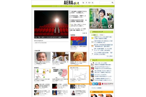 AERA dot.(アエラドット)に鈴木良治のインタビュー掲載の画像